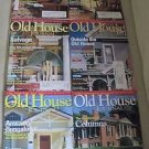 Old House Journal Back Issues Magazines Lot of 6 Entire Year 2007 DIY Remodeling
