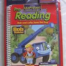 Leap Pad Leap Frog Book & Cartridge Bob The Builder Pre-Reading Lofty Saves day