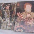 NEW Vintage Lot 2 Falcon Henry VIII Queen Elizabeth I Jigsaw Puzzles 750 pieces