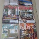 Old House Interiors Back Issues Magazines Lot 6 Entire Year 2010 DIY Remodeling