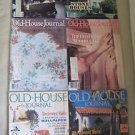 Old House Journal Back Issues Magazines Lot of 6 Entire Year 1991 DIY