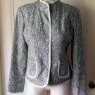 Villager A Liz Claiborne Company Snap front Jacket Coat Blazer size 6 52002
