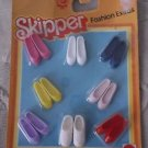 Vintage NOS Mattel Skipper Doll Shoes 1983 Fashion Extras New on Card No. 4916
