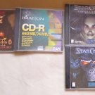 Lot of PC Games Diablo II Expansion Set Starcraft + Expansion Set