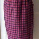 Vintage Pendleton Authetic Macduff Tartan Plaid 100% Wool Skirt size 10 USA