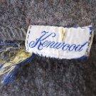 """Vintage Kenwood Mills Camp Timanous 100% Pure Virgin Wool 73"""" X 61"""" Blanket"""