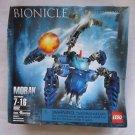 NIB Lego Bionicle Figure Matoran Morak Set 8932 Blue Bionicles 2007 Building Toy