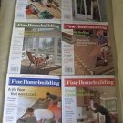 Fine Homebuilding Back Issues Magazines Lot of 6 Entire Year 2005 DIY Remodeling