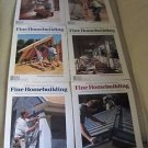Fine Homebuilding Back Issues Magazines Lot of 6 Entire Year 2000 DIY Remodeling