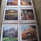 Fine Homebuilding Back Issues Magazines Lot of 6 Entire Year 1998 DIY Remodeling