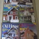 Old House Journal Back Issues Magazines Lot of 6 Entire Year 2003 DIY Remodeling