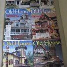 Old House Journal Back Issues Magazines Lot of 6 Entire Year 2004 DIY Remodeling