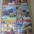 Old House Journal Back Issues Magazines Lot of 6 Entire Year 2006 DIY Remodeling
