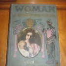 VTG 1906 Woman in Girlhood Wifehood Motherhood Dr. M.Solis Cohen Book Hygiene
