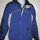 Vintage Obermeyer Nylon Full Zip Up Winter Ski Snow Parka Jacket Mens S Banff