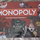 Monopoly The Nightmare Before Christmas Board Game Hot Topic Pre Exclusive NISB!