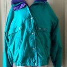 Vintage 80s 90s CB Sports 3 in 1 Ski Jacket Puffer Parka Fleece Shell Womens XL