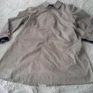 Vintage Gleneagles Automatic Wash & Wear Showerproofed Overcoat Trench Coat 42s