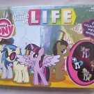 New THE GAME of LIFE: My Little Pony Board Game 4 Collectible Pony Movers