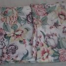 Vintage Thomaston American Mood DBL Flat Sheet 2 Pillowcases Flower Cottage Chic