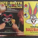 1975 Hasbro Lite Brite picture refill 4 sheets + box 5455 5486 5482 Light Bright