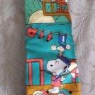 Mens Vintage 1966 Peanuts Schult Abano T All Silk Handmade Necktie Made In Italy