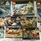 Legos Star Wars Sets # 7140/7186/7110/7146/7134/7104 Instructions Manual Only!