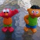 Sesame Street Workshop plastic figures figurines cake toppers ErnieElmo swimming