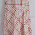 EUC Girls 2007 Gymboree Plaid Gingham Checked Summer Party Dress Sundress 12