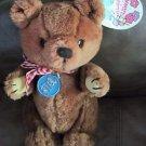 "Vintage 12"" Hawaiian Theodore Bear Plush Toy 1981 Stuffed Animal Keiki Toy Dakin"