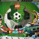 Legos Sports Soccer Set # 3411 Americas Team Bus Instructions Manual Only!