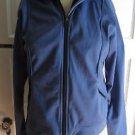 Nike Womens Athletic Running Track Yoga Microfiber Fleece Lined Jacket L 12 14