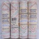 Lot of 4 Santa Fe Indian Blanket Aztec Print Prepasted Wallpaper Border Pastels