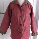 Womens LL Bean Canvas Quilted Insulated Adirondack Barn Field Chore Work Coat XS