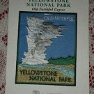 New Yellowstone National Park Old Faithful Geiser Assoc Patch Travel Souvenir