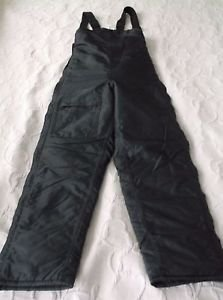 EUC womens SNO RIDER Dry Tech Winter Snow Snowmobile Suit Bibs Overalls Black 8