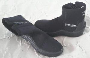 ScubaMax 5.0mm Titanium Booties Scuba Dive Diving Snorkeling Booties Size 6 S 39