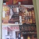 Old House Journal Back Issues Magazines Lot of 6 Entire Year 1992 DIY Remodeling