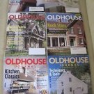 Old House Journal Back Issues Magazines Lot of 6 Entire Year 2001 DIY Remodeling