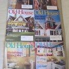 Old House Journal Back Issues Magazines Lot of 6 Entire Year 2002 DIY Remodeling