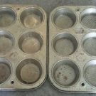 Vintage Metal Ovenex Muffin Cupcake Tins 6 United States of America EKGO Chicago