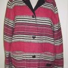Vintage Ralph Lauren Safari Outfitters Indian Blanket Coat Barn jacket size P/M