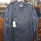 NWT $2495 Mens Ralph Lauren Purple Label Double Breasted Peacoat Trench Coat XL