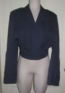 Vintage K.L.U. Macintosh Cropped Postal Military Marching Band Uniform Jacket 45