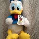 Vintage Donald Duck plush stuffie Walt Disney World theme parks NWT! Stuffed