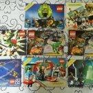 2001 2002 Lot of 8 Vintage Legos Legoland Maniac Collectors Guide Club Catalogs