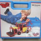 Rare Mini Quadro Unimobile Building Set Toy Germany 169 Elemente 1985 Carry Case