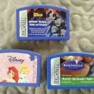 Lot Leapster games cartridges ratatouille Disney princess batman Leap Frog