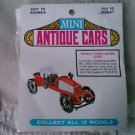 NEW vintage mini antique car plastic model kit renault paris Vienne 1902 France