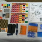 Huge Lot X-Trek Micro Racing System Set Tracks Stickers Accessories Parts Pieces